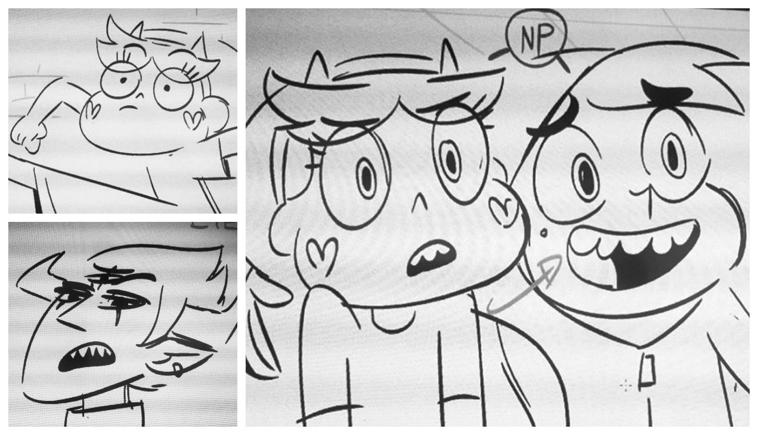 Supuestos bocetos de la tercera temporada