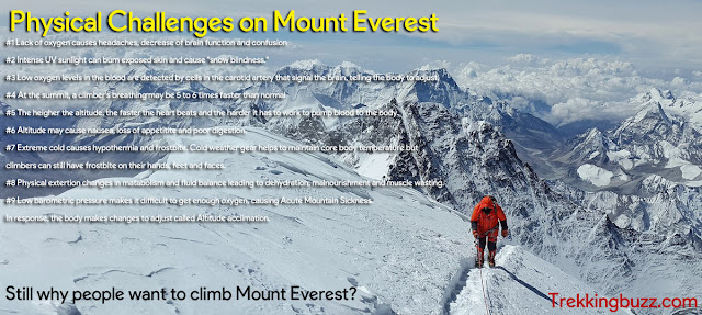 Mount Everest Challenges