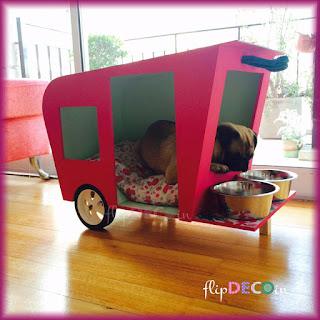 Cucha-casita para perros