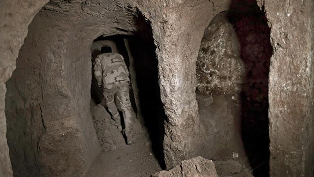 Hallan algo inesperado debajo de la tumba de un profeta bíblico destruida por el EI