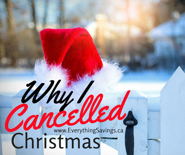 Why I Cancelled Christmas