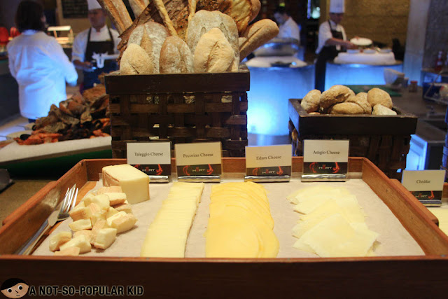 Cheese Selection of Heat Buffet