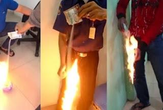 Bubuk Kopi Mudah Terbakar, Aman Dikonsumsi