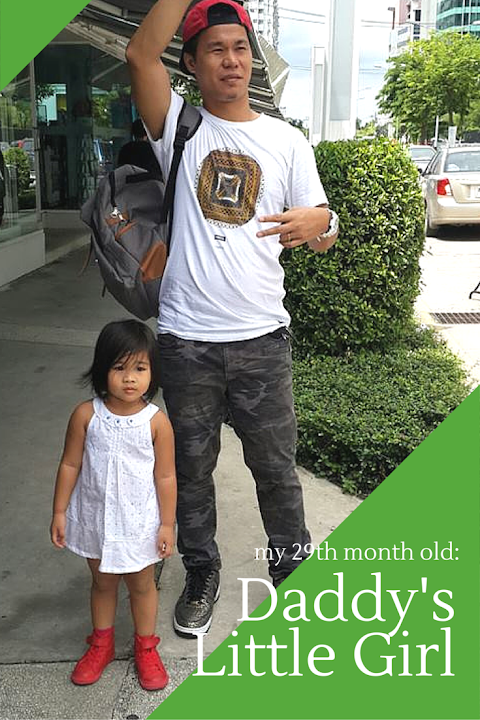 My 29th Month Old : Daddy's Little Girl