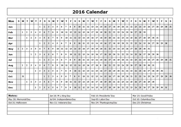 2016 online calendar editable printable efreeshare