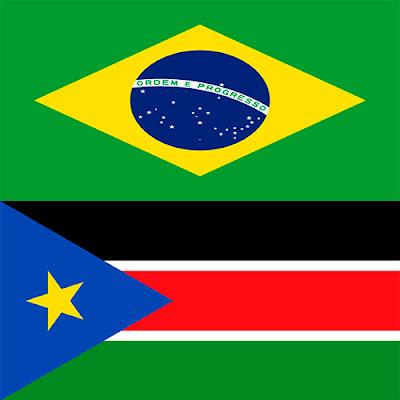 Brasil X Sudão do Sul