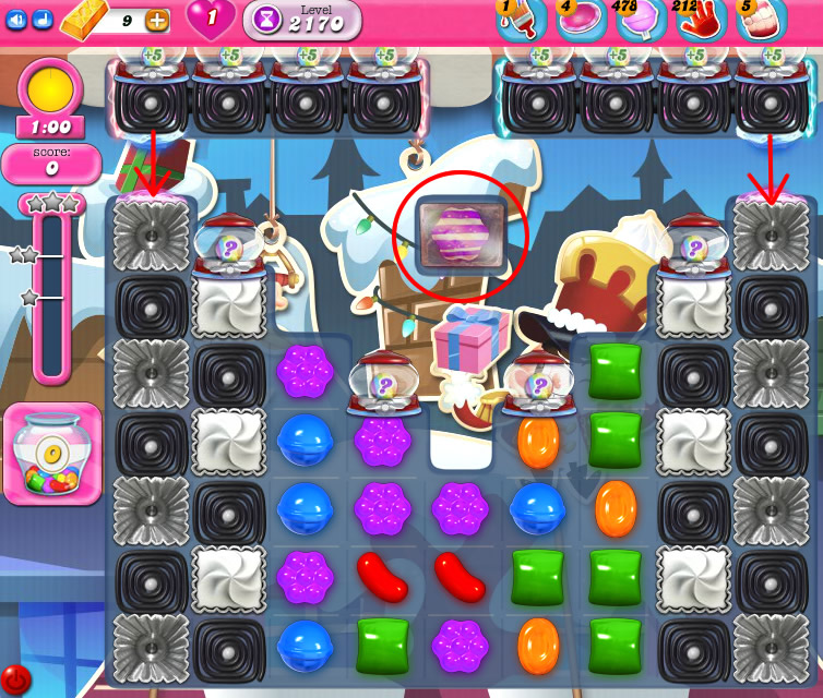 Candy Crush Saga level 2170