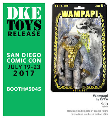 San Diego Comic-Con 2017 Exclusive Star Wars Bootleg Resin Figures by RYCA x DKE Toys
