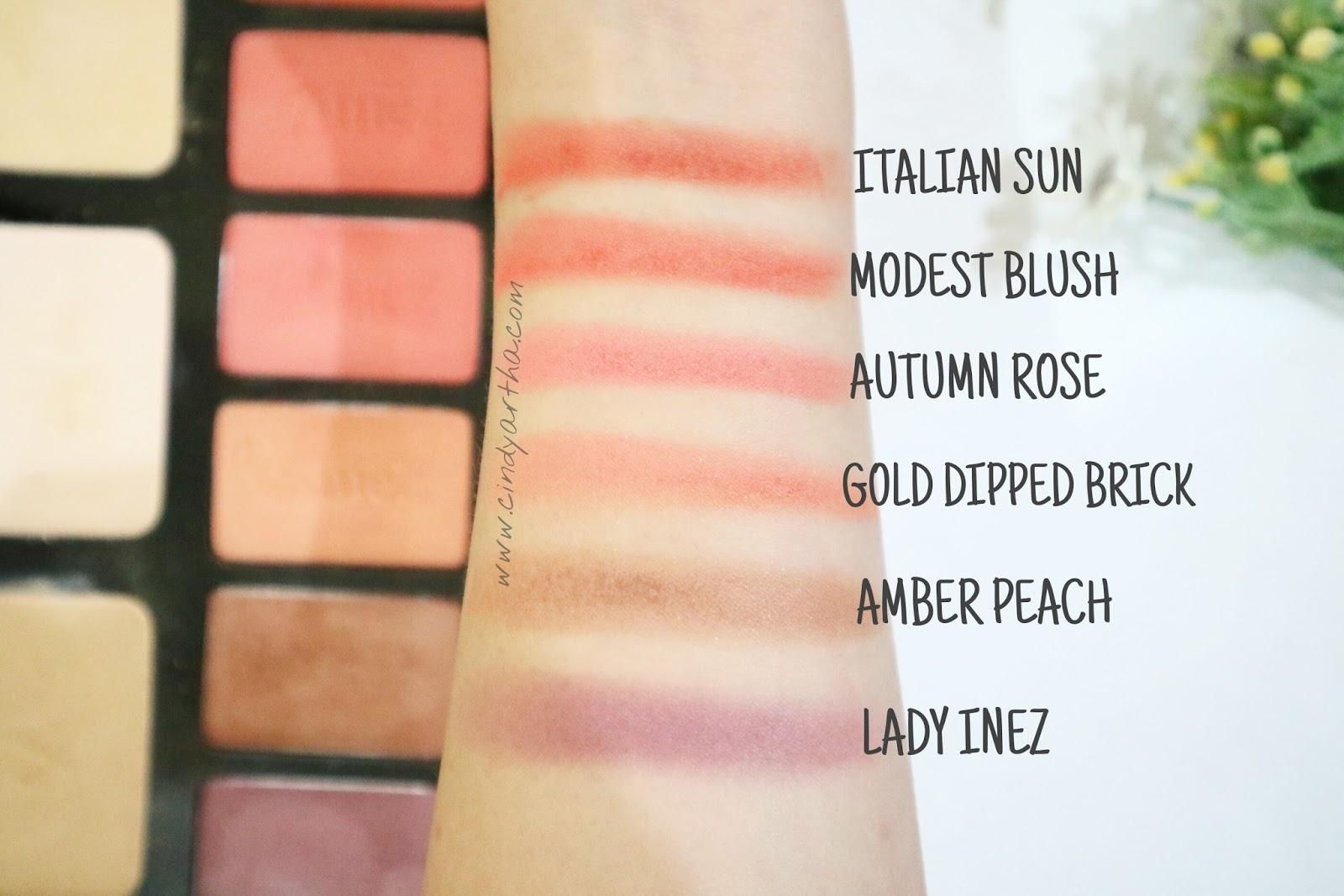 Inez Cosmetics Luxury Pack Beauty Lifestyle Journals Correcting Cream Vivid Tekstur Dari Blush Ini Sangat Powdery Pigmentasinya Ga Perlu Diragukan Lagi Juara Lah Jadi Pastikan Kamu Pakainya Sedikit Ya