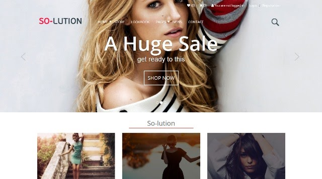 Solution – creative multi-purpose eCommerce WordPress theme