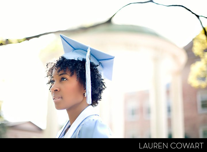 Grad Hairstyles: For The Fabulous And Frugal: Natural Hair Graduation