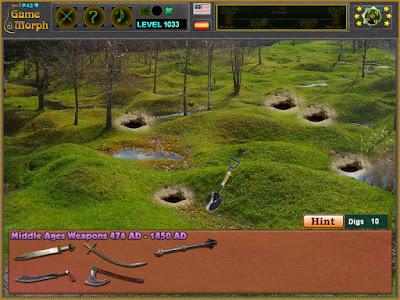 Разкопки за Средновековни Оръжия Онлайн Игра