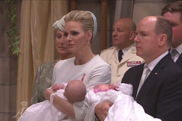 The baptism of the Princely Children live on Monaco