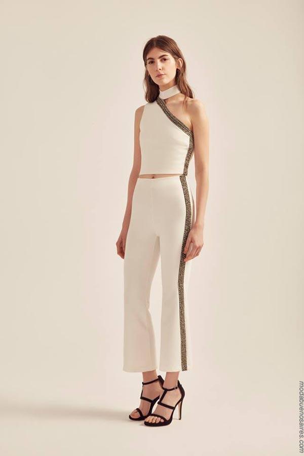 Pantalones primavera verano 2019 ropa de mujer.