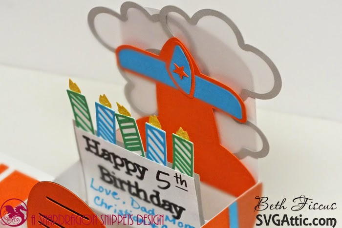 Dusty Airplane Birthday Cake