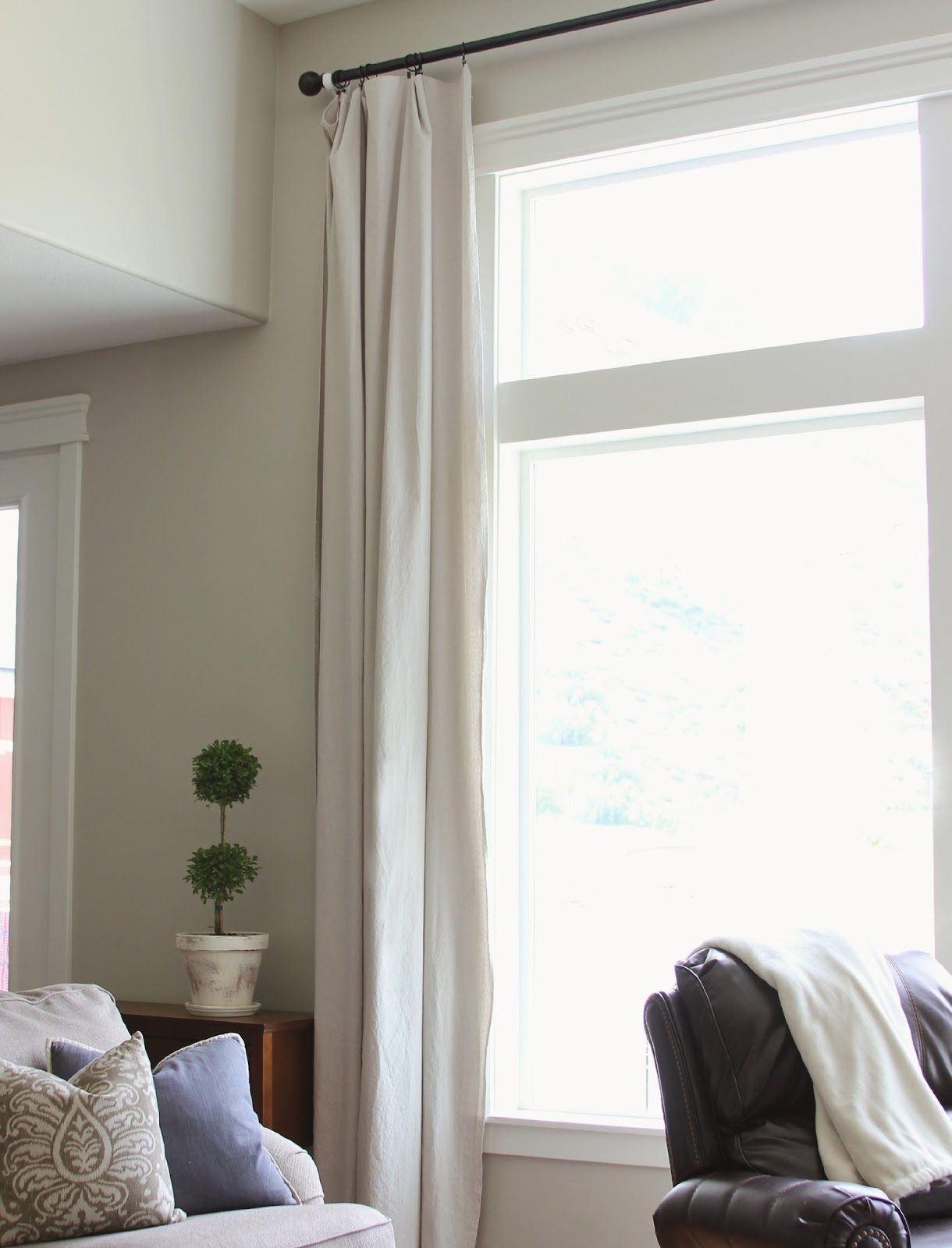 curtains for long big windows | 320 * Sycamore