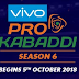 Pro Kabaddi League 2018 schedule: Complete list of fixtures, dates and venues of matches in VIVO Pro Kabaddi 2018