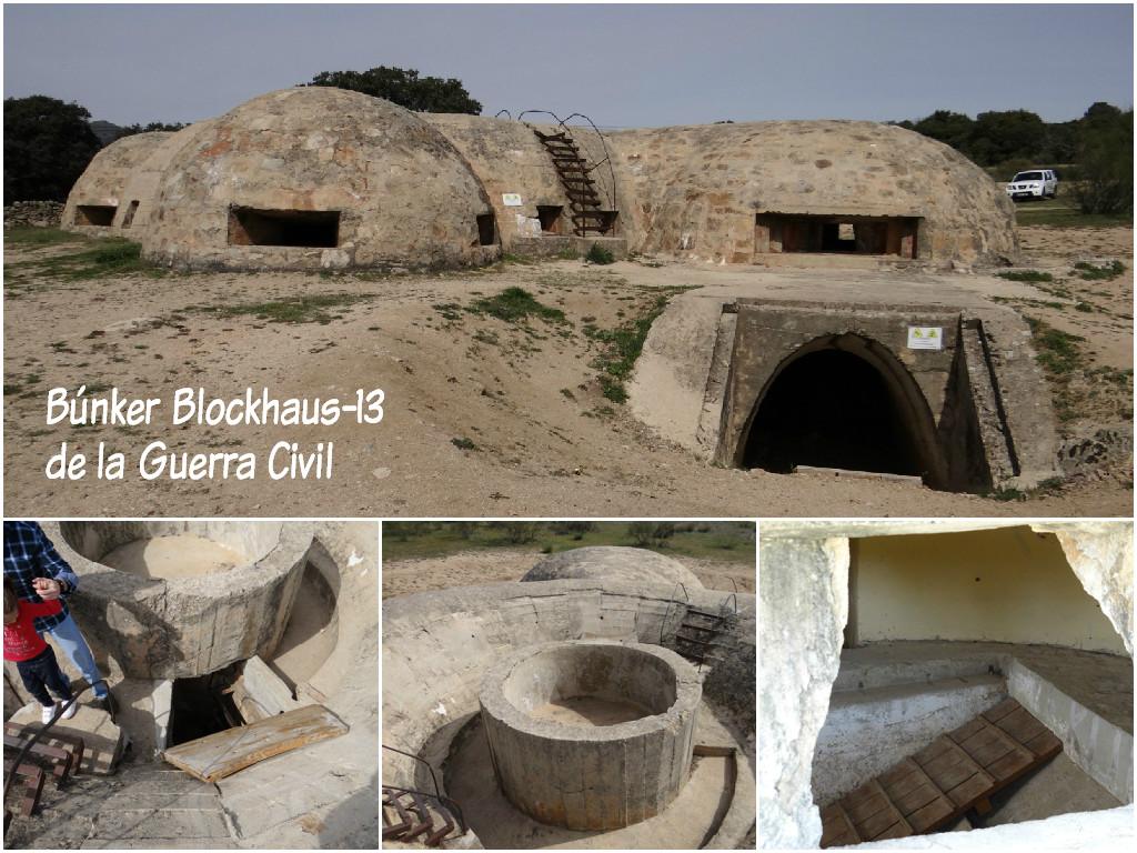 Búnker Blockhaus 13 de la Guerra Civil