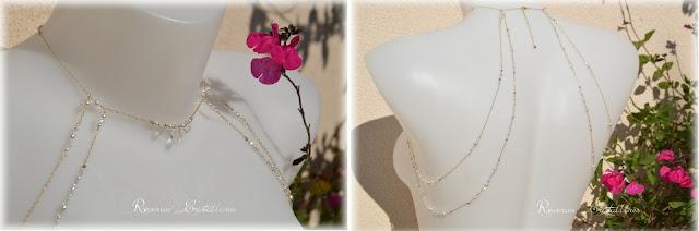 collier mariage en cristal de swarovski