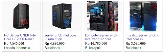 Harga komputer server unbk