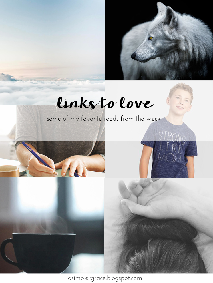 My favorite reads from the week.  #linkstolove #fridayfavorites