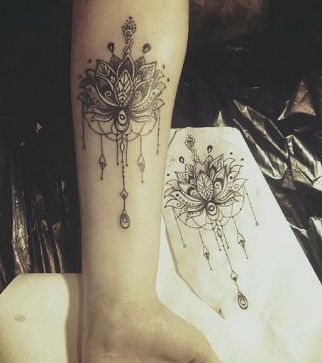 Lotus Tatuagem De Mandala