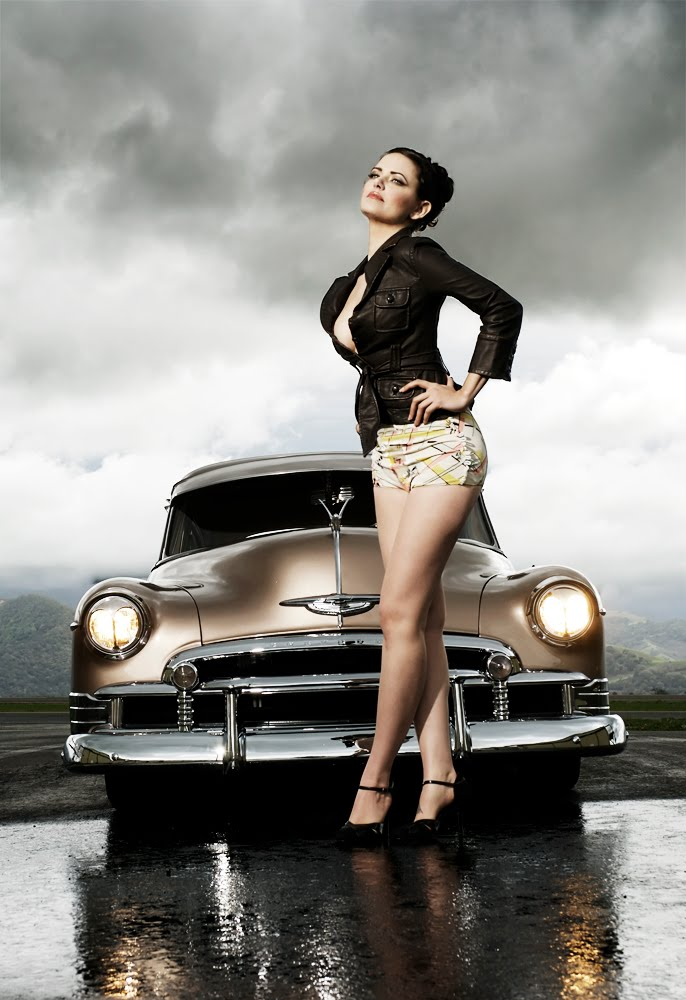 pin girls and cars - photo #24