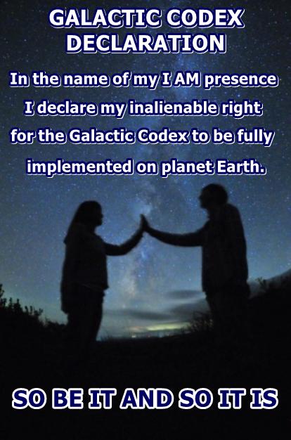 Galactic Codex Declaration