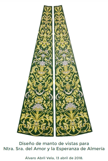 Diseño de manto de vistas para Ntra. Sra. del Amor y la Esperanza a1b2961553fe5