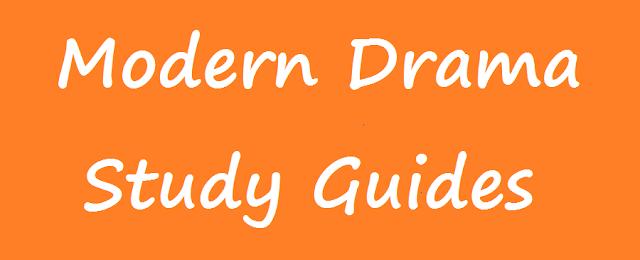 Download Modern Drama - Study Guides