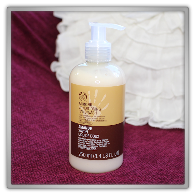 The Body Shop Haul Review blog beauty blogger almond  conditioning hand wash soap bubble soft