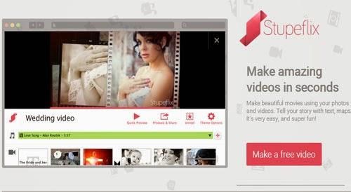 Membuat Video Slideshow Foto Online