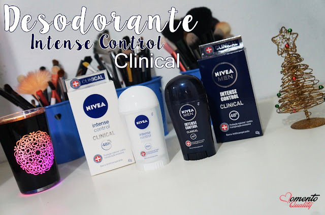 Desodorante Intense Control Clinical Nívea