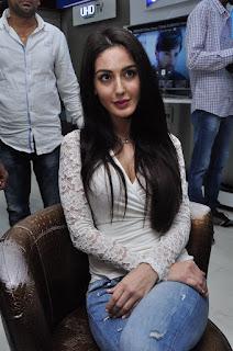 Farah Karimaee Pictures in Jeans at Teraa Surroor Movie Press Meet ~ Celebs Next