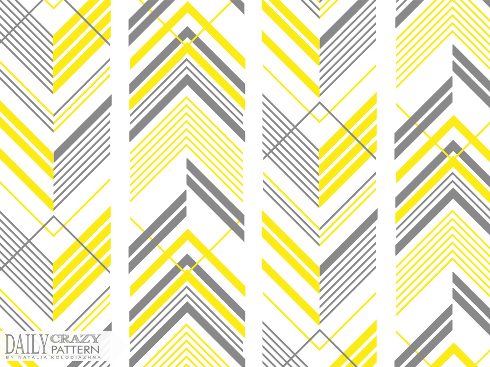 "Geometric print for ""Daily Crazy Pattern"" project"