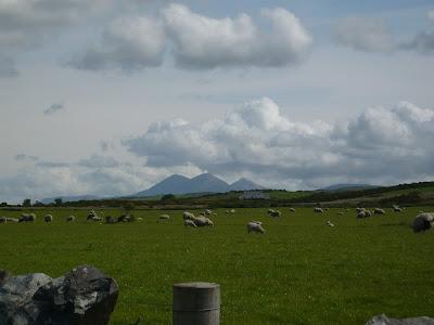 výhľad na ostrov Jura z ostrova Islay