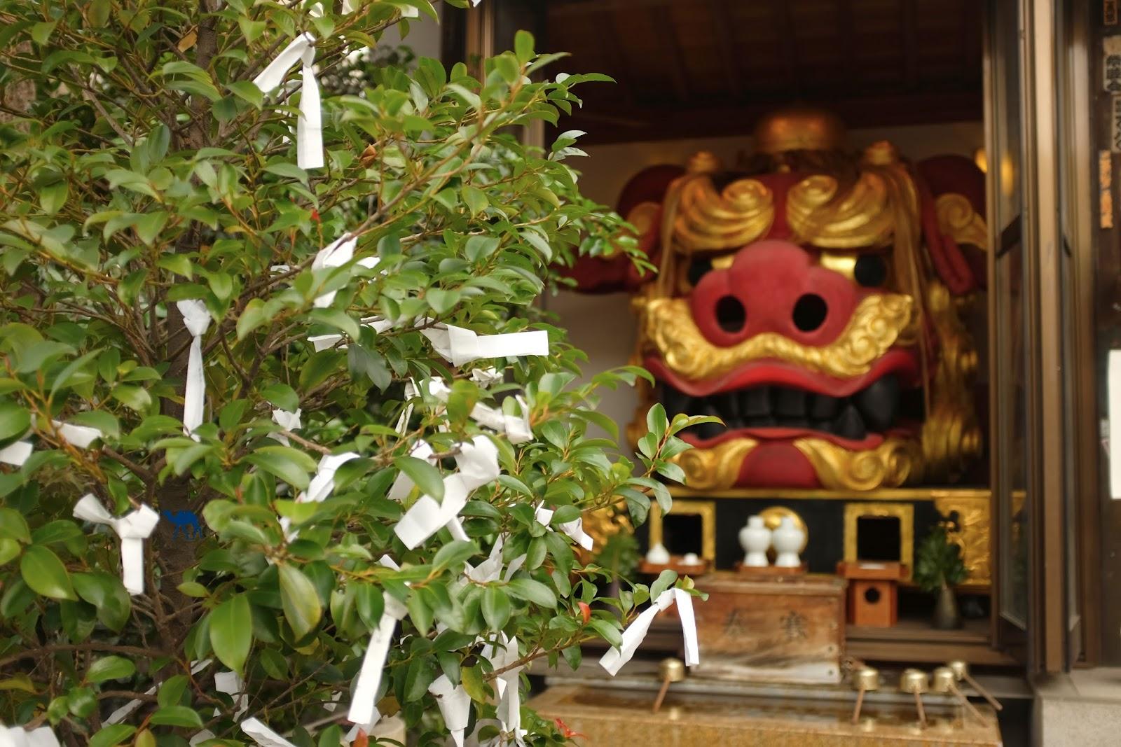 Le Chameau Bleu - Temple japonais à Tsukiji Tokyo Japon