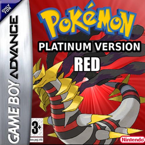 Pokemon Platinum Red
