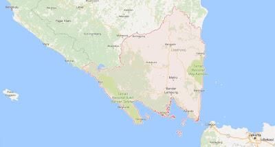 Peta Wilayah Provinsi Lampung