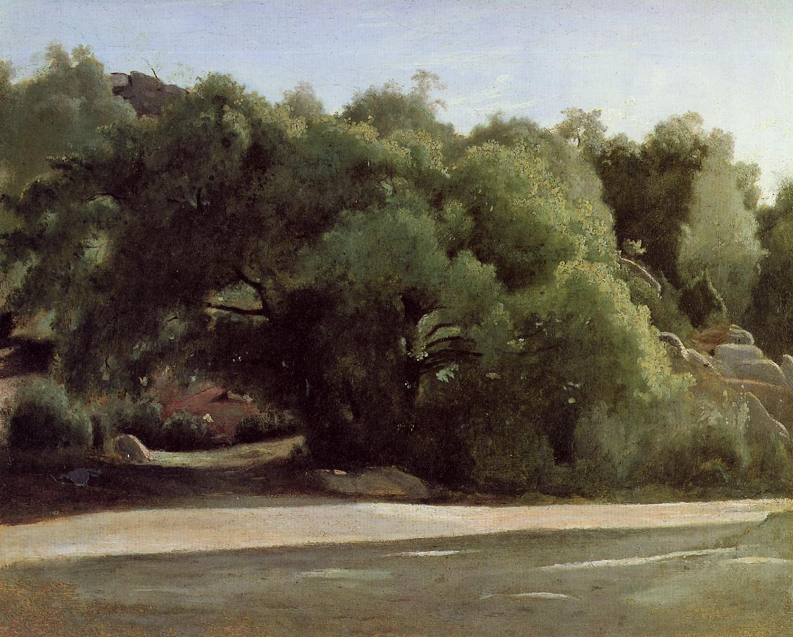 Art artists camille corot part 1 for Camille corot