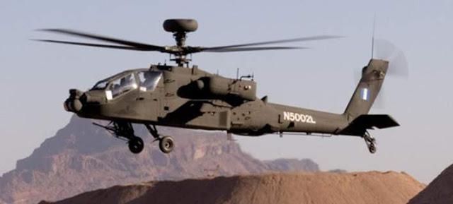 Έπεσε στρατιωτικό ελικόπτερο Aπάτσι στη Βόρεια Ελλάδα