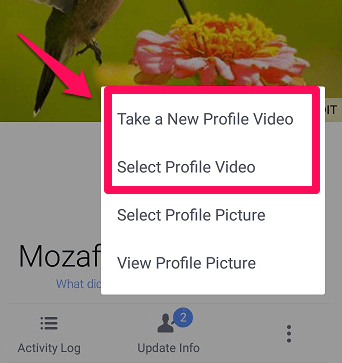 how-to-upload-facebook-profile-video-instead-of-picture