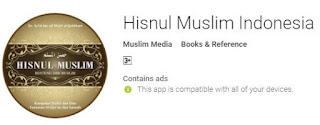 Hisnul Muslim Indonesia dari Muslim Media, mempunyai catatan kaki rujukan Al Qur'an atau Hadtis dari doa sehari-hari dalam Islam