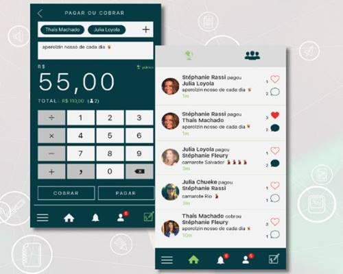 App brasileiro DinDin já está disponível para aparelhos iOS e Android e cobra taxa de 3,9% para transferências pelo cartão de crédito