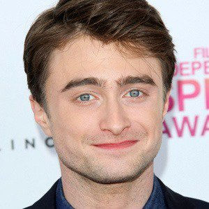 him in the movie daniel radcliffe is kind of cute  Daniel Radcliffe