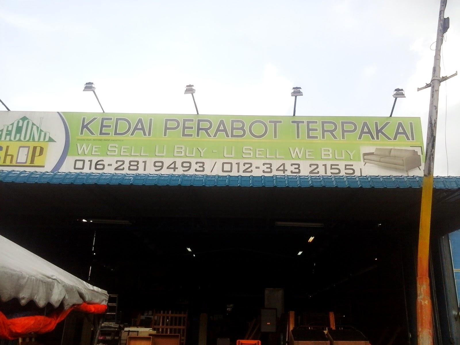 Idashazana Kedai 2nd Hand