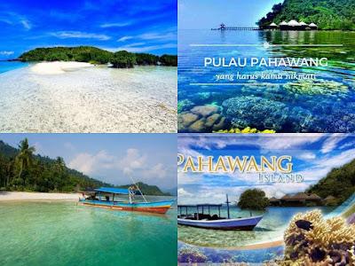 menikmati keindahan alam pulau pahawang