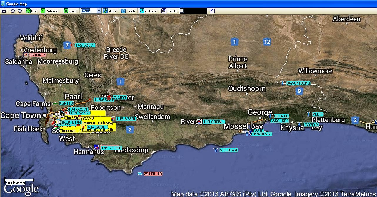 Mossel Bay Weather Observation, South Africa : Mossel Bay (Southern