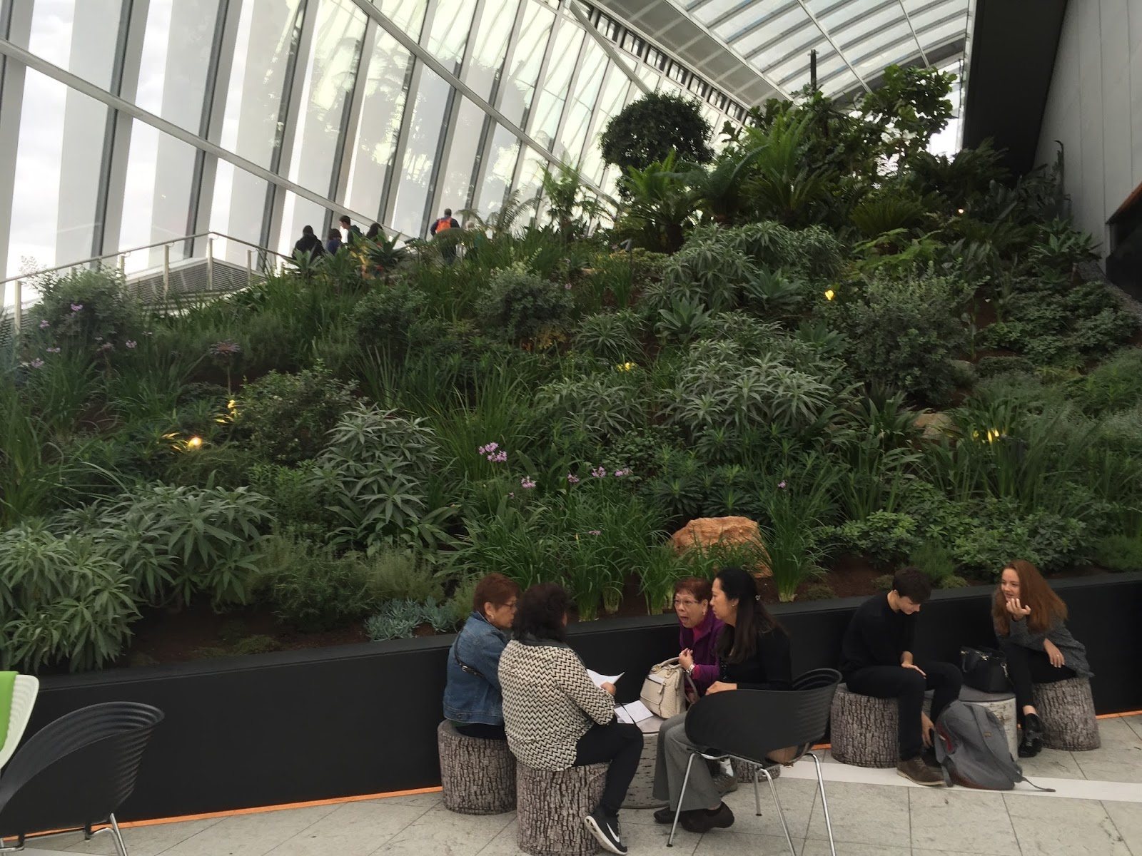 Moremins In London Sky Garden In Walkie Talkie Building