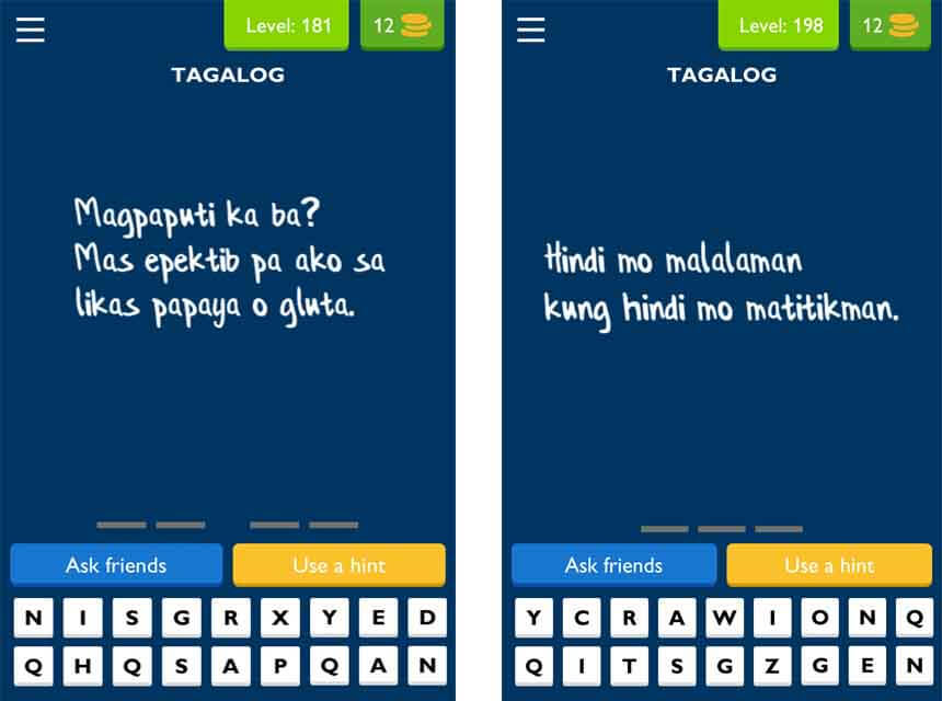 Q and a questions tagalog